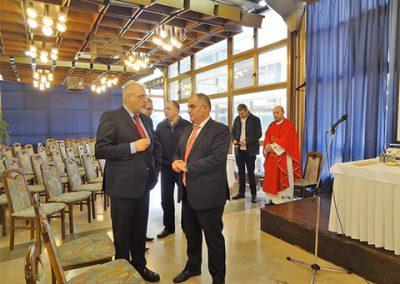 Splitski župan Blaženko Boban također je počastio skup svojom nazočnoćšu