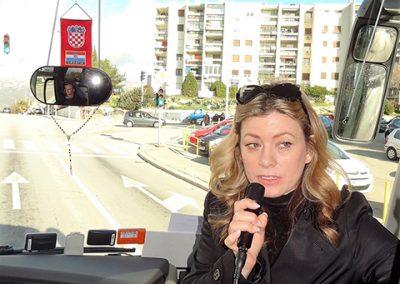 Vlasnica Agencije Helle-travel gđa Kritijana Čolović volonterski nas je upoznala sa gradom i znamenitostima i  osobno doprinijela da nam boravak bude ugodan